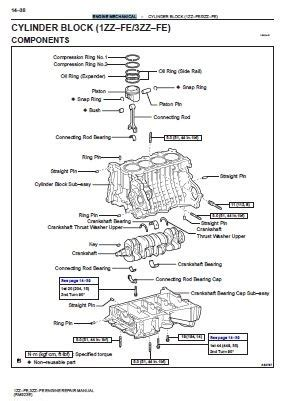 car repair manuals online pdf 2003 toyota rav4 seat position control 1zz fe 3zz fe engine repair manual rm923e