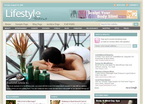 wordpress themes free lifestyle studiopress lifestyle theme free download premium