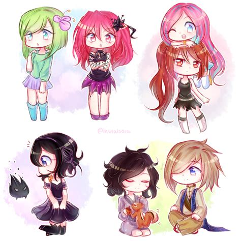 imagenes anime chibi chibis by iyumei on deviantart