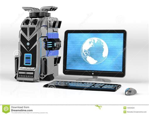 Strong Coler For Laptop And Notbook powerful computer system stock photos image 12034023