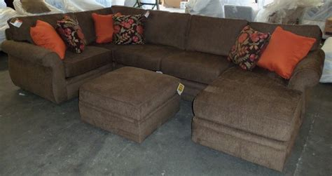 broyhill veronica sectional broyhill veronica sectional and storage ottoman