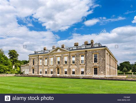 althorp house the rear of althorp house seat of earl spencer and