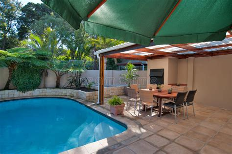 Nobody Into The Pool At Bartles Poolside Bbq Open All 4 by Backyard Royalty Free Stock Photo Image 32527455