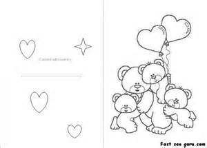 s day coloring cards 5 best images of printable foldable coloring