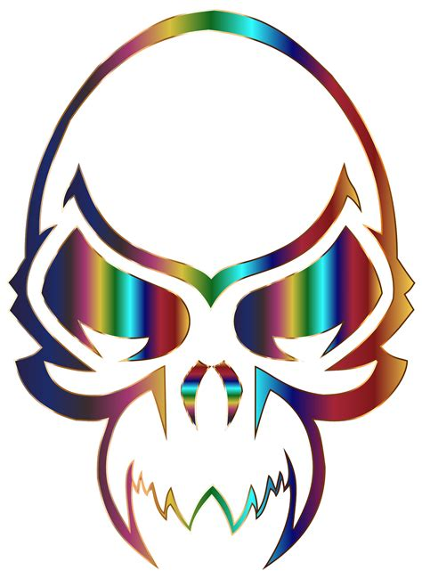 colorful skull pin skull colorful rainbow wallpaper wallchan pictures on