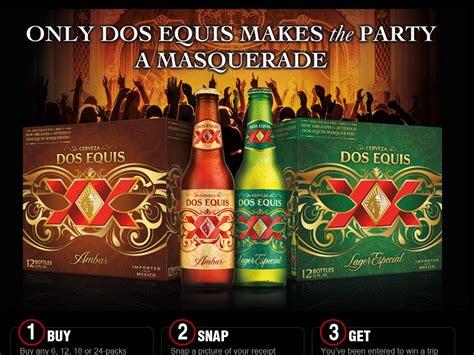 Dos Equis Instant Win - dos equis masquerade sweepstakes