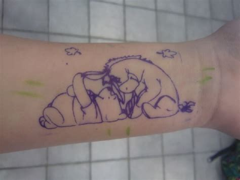 eeyore tattoos winnie the pooh and eeyore miss juia