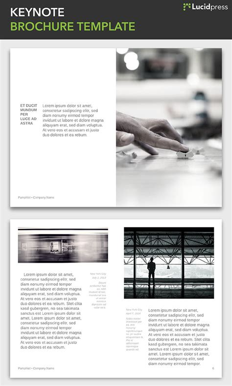 keynote brochure template 21 creative brochure design ideas for your inspiration