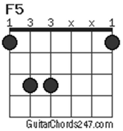 Guitar Chord F5