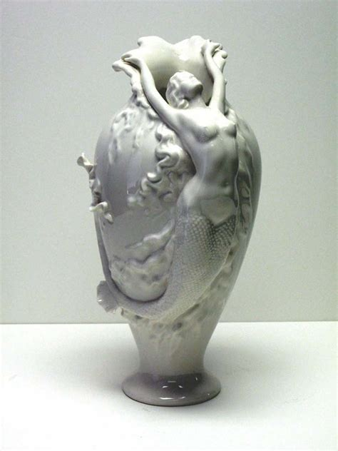 Mermaid Vase by Muranoartglass Us A Franklinmall Site Featuring