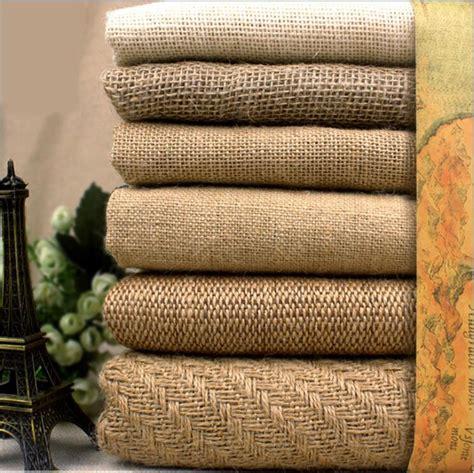 xcm natural jute burlap fabric  place mats bags
