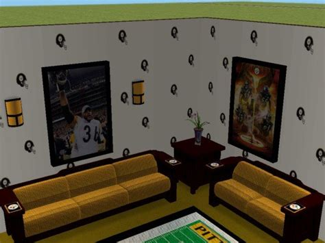 pittsburgh steelers bedroom mod the sims pittsburgh steelers bedroom and living room for my best friend