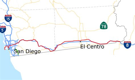 us highway map i 80 u s route 80 in california