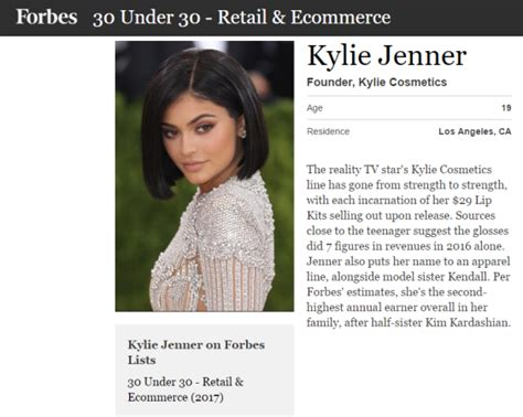 welcome to forbes welcome to veronkay s blog kylie jenner named on forbes