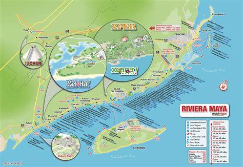 riviera map riviera hotels map mayan riviera hotels map