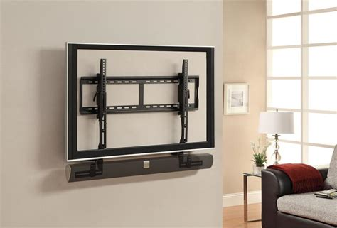 Soundbar Tv Stand by Atlantic Universal Adjustable Sound Bar Bracket 6307104