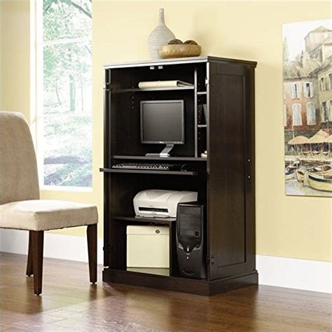 Sauder Computer Armoire Cinnamon Cherry by Sauder Computer Furniture Top 10 Searching Results