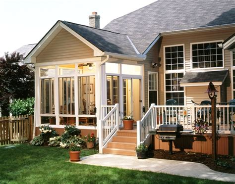 Sunroom And Patio Designs Top 5 Reasons To Enclose A Deck Create A Sunroom