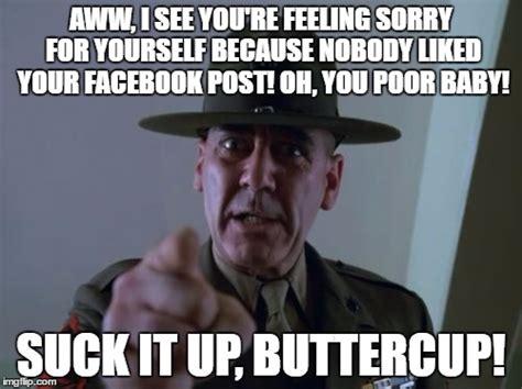 You Suck Meme - sergeant hartmann memes imgflip