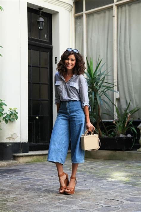 Culotes Pant 47 style tips about how to wear culottes culotte