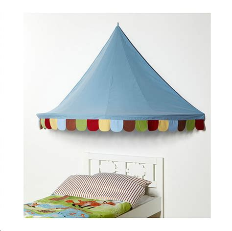ikea bed tent ikea child s mysig bed tent canopy toy blue xmas girl boy