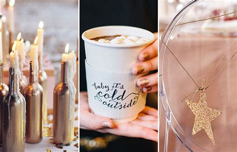 winter weddings on a budget 5 simple inexpensive winter wedding decor ideas