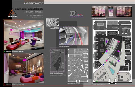 interior architecture design portfolio sle by