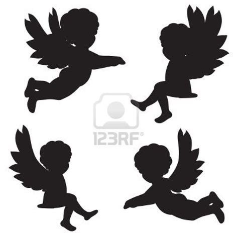 tattoo angel vector angel silhouette tattoo designs christmas angel