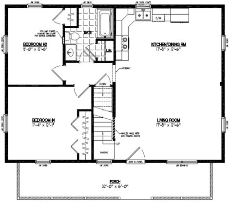 Certified Homes Mountaineer Certified Home Floor Plans 26 X 36 House Plans