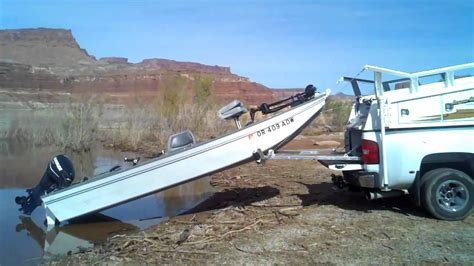 truck bed boat carrier boat loader lake powell 3gp youtube