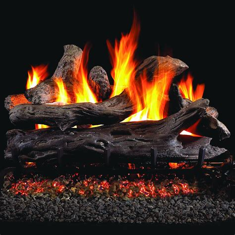 Peterson Fireplace Logs by Peterson Real Fyre 24 Inch Coastal Driftwood Gas Log Set