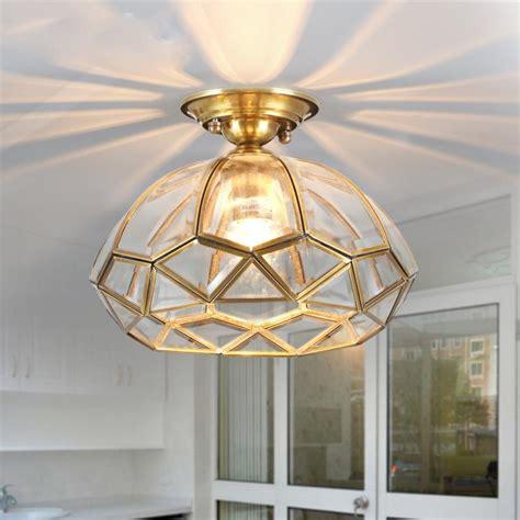 Fancy Dining Room european vintage copper cloakroom ceiling light corridor
