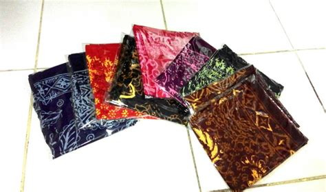 Scarf Motif Murah Berkualitas Shawl Motif Scarf Fashion Bandana jual syal scarf batik halus suvenir harga grosir murah