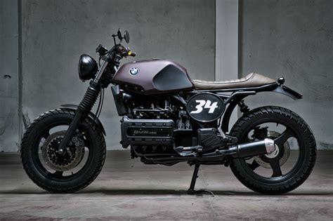 Motorrad Fahren Mit 40 by Bmw K100 Scrambler Two Wheeled Beasts