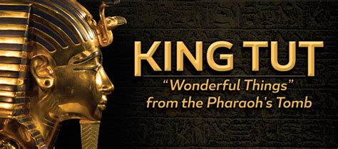 See Tut The Boy King In Philadelphia by King Tut Wondrous Things From The Pharaoh S