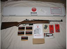 RUGER MINI-14, 223 CAL. STS w/ 5 BOXES AMMO for sale 223 Ammo Boxes For Sale