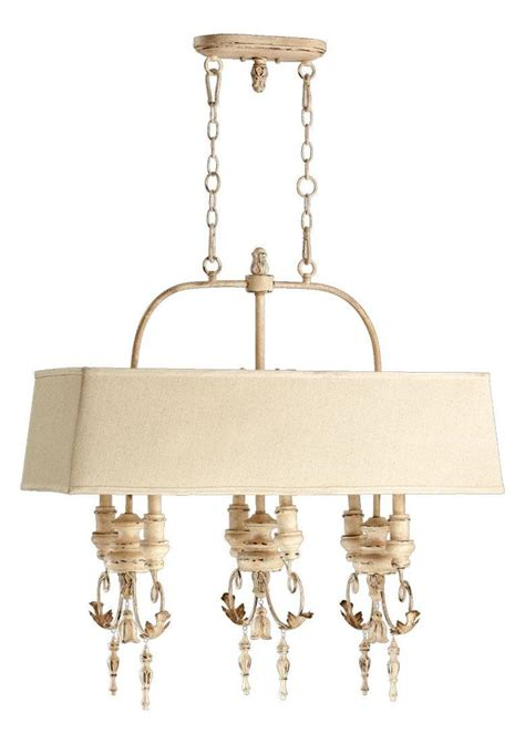 White Island Light Quorum Six Light White Island Light White 6506 6 70 From Salento Collection