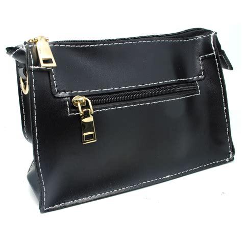 Tas Casual 2 tas selempang wanita casual black jakartanotebook