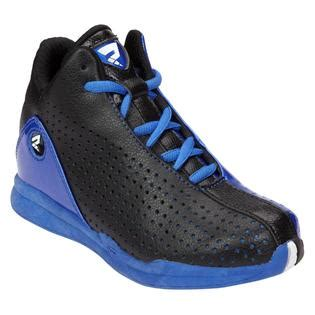 protege basketball shoes protege boy s crossover basketball shoe black blue