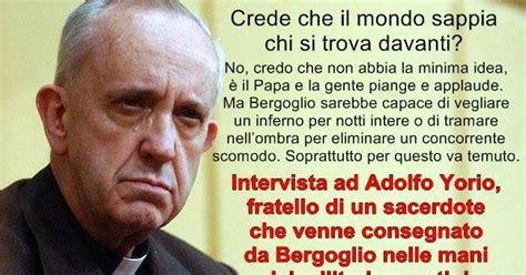 chi sono gli illuminati e cosa vogliono ilmaestroemargherita il nostro quot ciccio quot papa francisco
