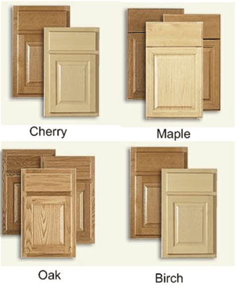 kitchen cabinets wood types kitchen cabinet wood types cabinets matttroy