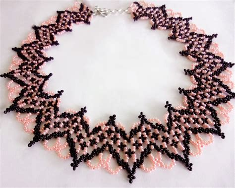 free beading patterns free beading pattern for necklace selene magic