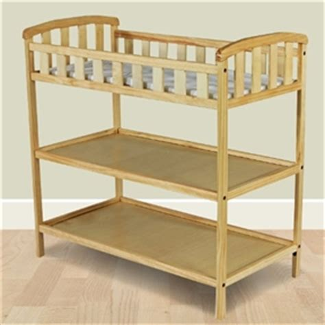 natural wood changing natural finish wood baby furniture changing table with