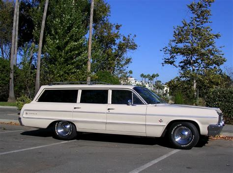 64 Chevy Impala Station Wagon Chagne Another One 64 Chevy Impala 409cid Station Wagon