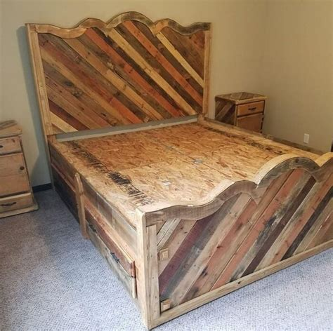 diy wood pallet bed 25 best diy pallet bed ideas on pallet platform bed bed ideas and diy bed frame