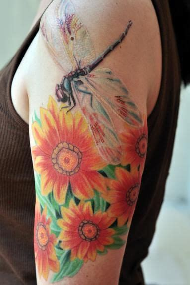 dragonfly and flower tattoo designs 59 best dragonfly tattoos images on dragonfly
