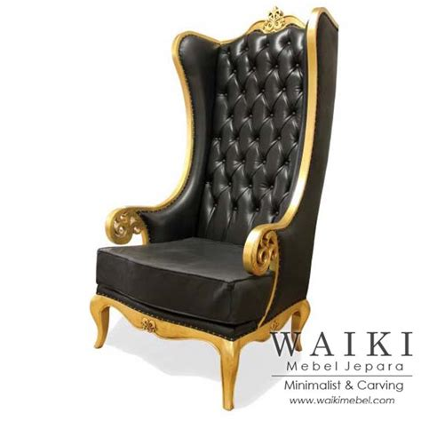 Jual Wing Chair Mahoni Kaskus jual kursi sofa ukir classic wing chair gaya kerajaan