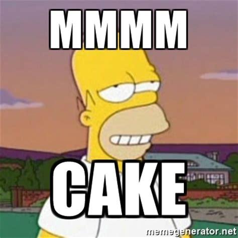 Cake Meme - homer and cake cake ideas and designs