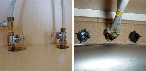 Kitchen Sink Supply Lines by How To Install A Kitchen Sink Faucet Today S Homeowner