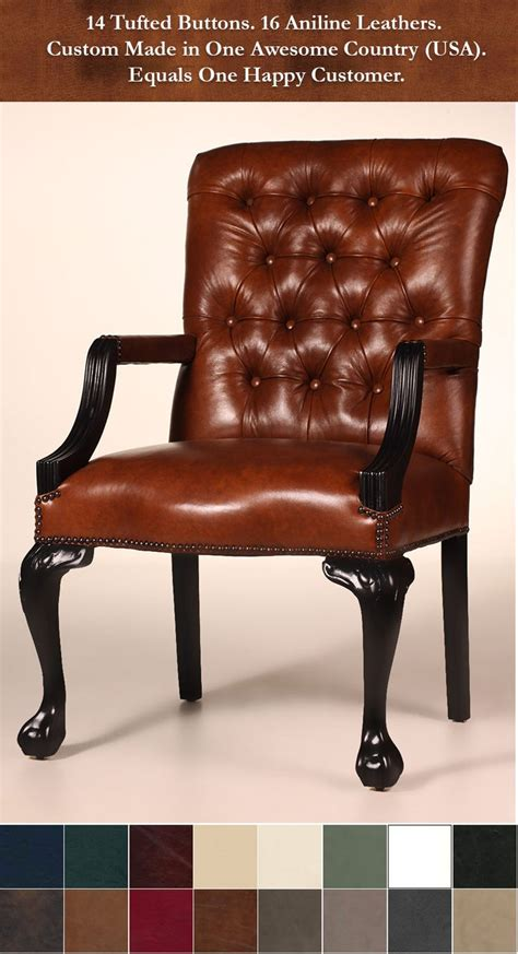 The lowell chair is a leather masterpiece the attention to detail and workmanship that went